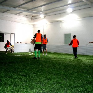 maracana club terrain footbal indoor